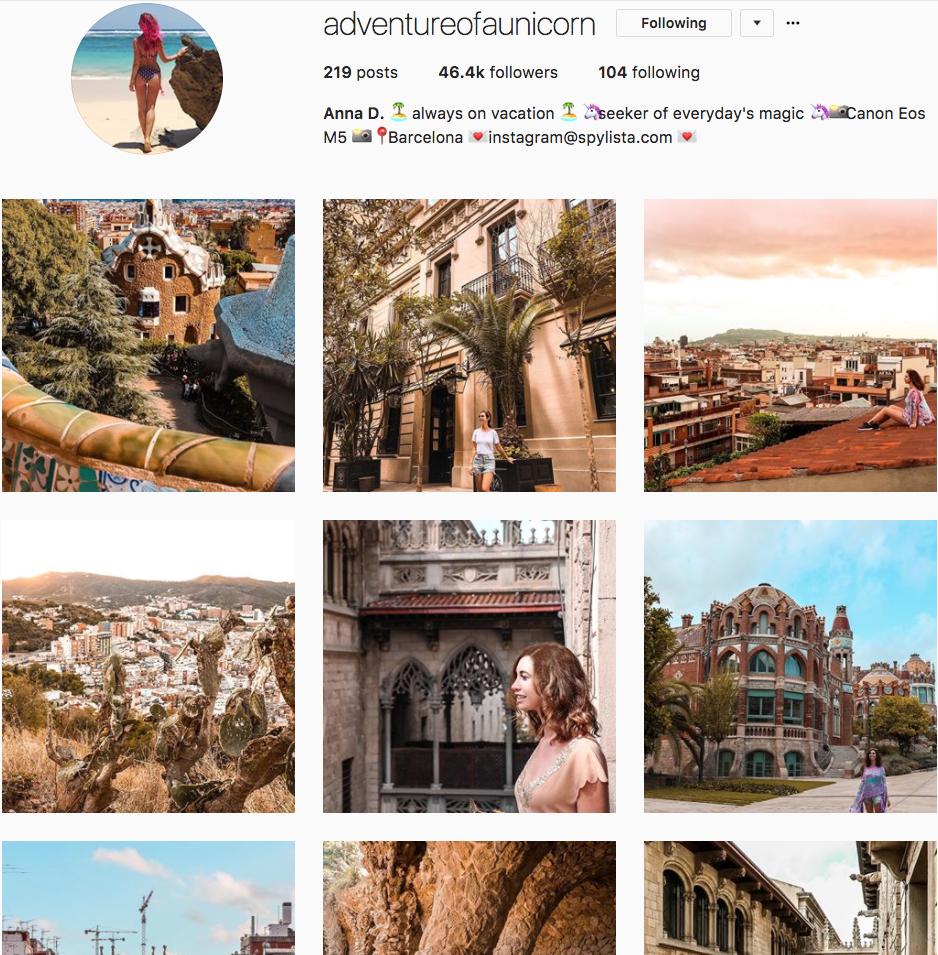 @adventureofaunicorn Instagram Feed