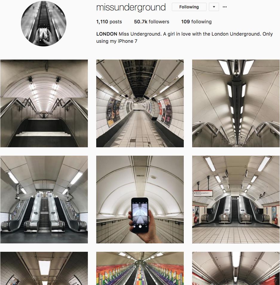 @missunderground Instagram Feed