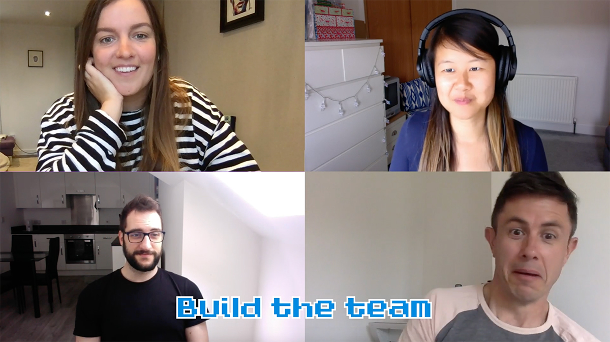 Work From Home Team Building Video Conferencing Games