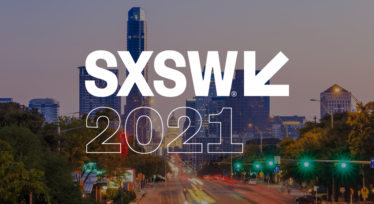 Crowd attend SXSW 2021 offering insights into social media marketing