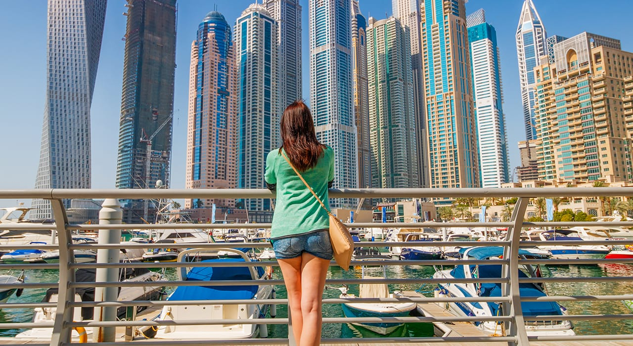 Tourism in the UAE has been confined to staycations for UAE residents thanks to restrictions on international travel