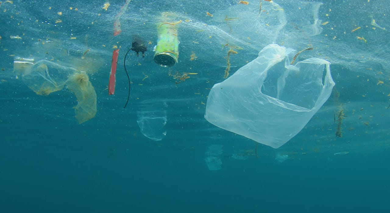 Sustainability marketing from Crowd aims to highlight plastic waste pollution